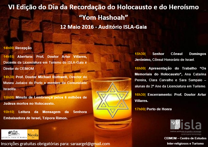 Holocausto Cartaz Programa Final