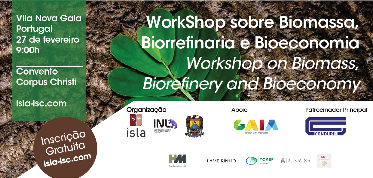 Workshop on Biomass, Biorefinery and Bioeconomy